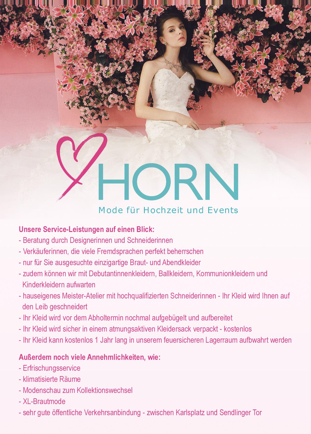 Horn Brautmode Premium Weddings